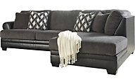 Ashley Kumasi Right-Side Chaise Sofa