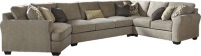 Ashley Pantomine Left-Side Cuddler 4-Piece Sectional