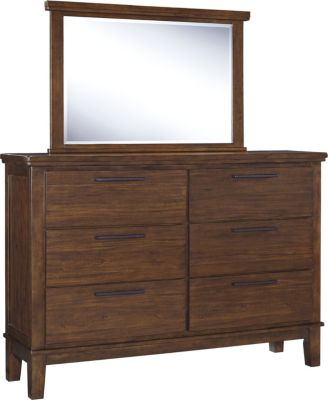 Ashley Ralene Dresser with Mirror