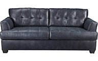 Ashley Inmon Navy Queen Sleeper Sofa