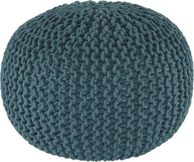 Ashley A10003 Collection Teal Pouf