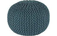 Ashley Nils Teal Pouf