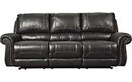 Ashley Milhaven Black Power Reclining Sofa