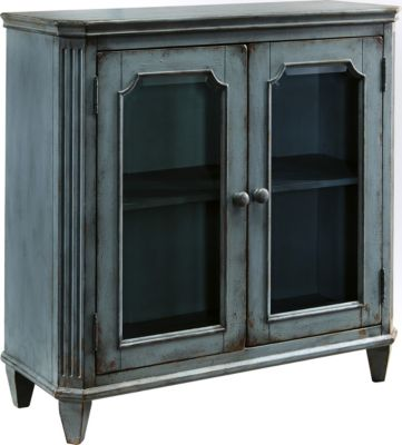 Ashley Mirimyn Blue Accent Cabinet