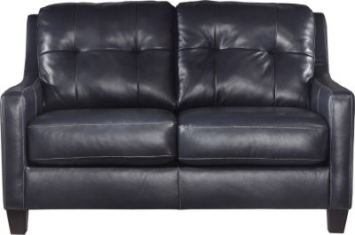 Ashley O'Kean Navy Loveseat