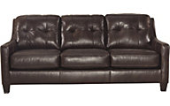 Ashley O'Kean Espresso Sofa