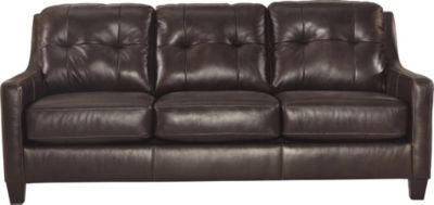 Ashley Ou0027Kean Espresso Queen Sleeper Sofa