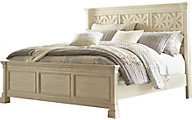 Ashley Bolanburg California King Panel Bed