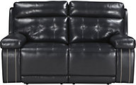 Ashley Graford Navy Power Reclining Loveseat