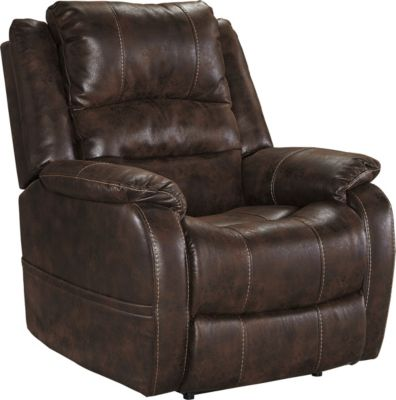 Ashley Barling Brown Power Recliner