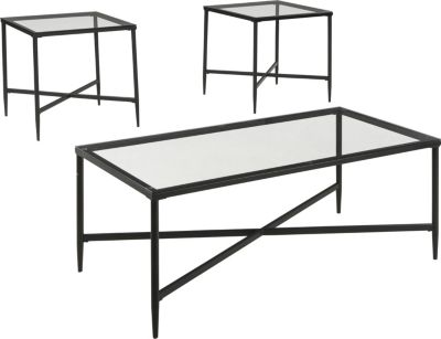 Ashley Augeron Coffee Table & 2 End Tables