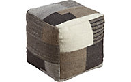 Ashley Calbert Pachwork Pouf