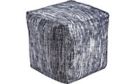 Ashley Darion Black Pouf