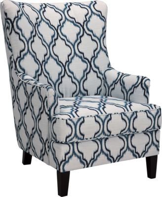Ashley La Vernia Quartrefoil Accent Chair