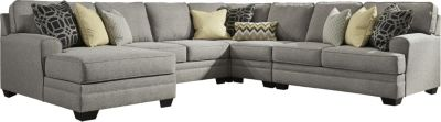 Ashley Cresson 5-Piece Left-Side Chaise Sectional