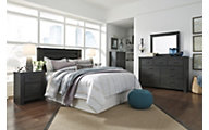 Ashley Brinxton 4-Piece King Headboard Bedroom Set
