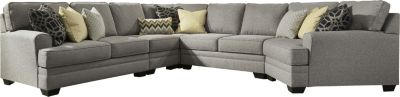 Ashley Cresson 5-Piece Right-Side Cuddler Sectional