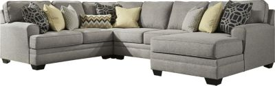 Ashley Cresson 4-Piece Right-Side Chaise Sectional