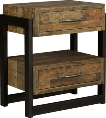 Ashley Sommerford Open Nightstand