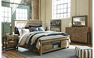Ashley Sommerford 4-Piece Queen Storage Bedroom Set