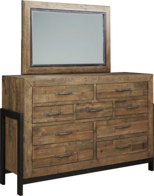 Ashley Sommerford Dresser with Mirror