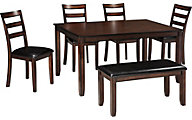 Ashley Coviar 6-Piece Dining Set