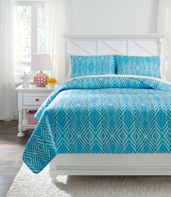 Ashley Jolana 3-Piece Full Quilt Set