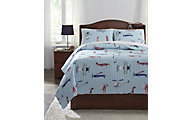 Ashley McAllen 3-Piece Full Quilt Set
