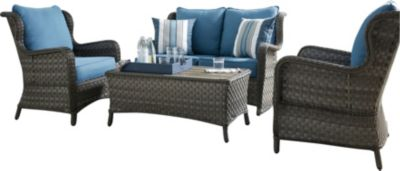 Ashley Abbots Court 4-Piece Outdoor Set