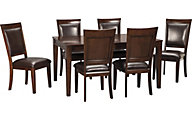 Ashley Shadyn 7-Piece Dining Set