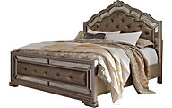 Ashley Birlanny Queen Upholstered Bed
