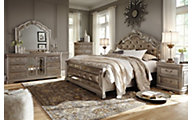 Ashley Birlanny 4-Piece Queen Upholstered Bedroom Set