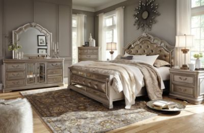 Fresh Upholstered Bedroom Set Exterior