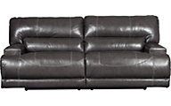 Ashley McCaskill Leather Power Reclining Sofa