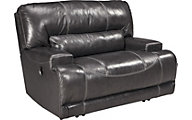 Ashley McCaskill Leather Wide Recliner