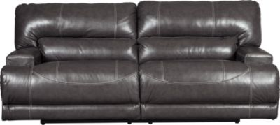 Ashley McCaskill Leather Reclining Sofa