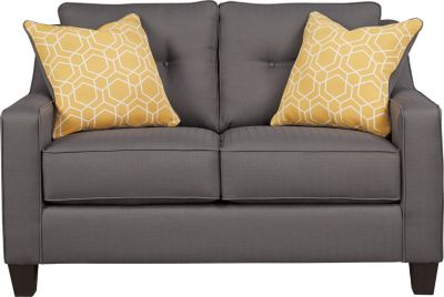 Ashley Aldie Nuvella Gray Loveseat