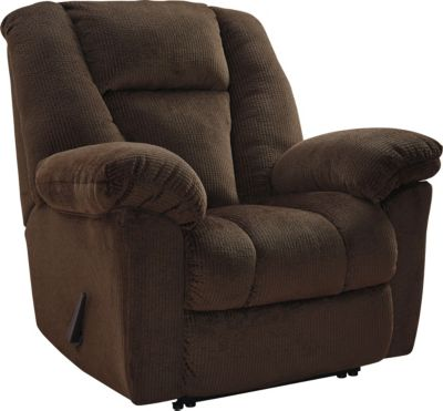 Ashley Nimmons Brown Wall Recliner