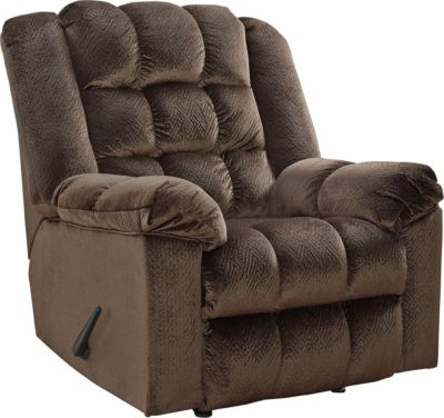Ashley Minturn Brown Rocker Recliner