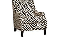 Ashley Carlinworth Greek Key Accent Chair