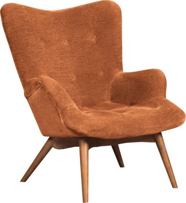 Ashley Pelsor Orange Accent Chair