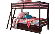 Ashley Halanton Twin/Twin Storage Bunk Bed