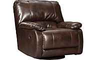 Ashley Hallettsville Swivel Glider Recliner