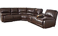 Ashley Hallettsville 4 Pc Power Recl Sectional