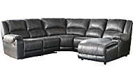 Ashley Nantahala 5-Piece Right-Side Chaise Sectional