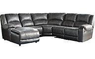 Ashley Nantahala 5-Piece Left-Side Chaise Sectional