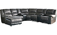 Ashley Nantahala 7-Piece Left-Side Chaise Sectional