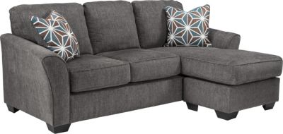 Ashley Brise Queen Sleeper Sectional Chaise Sofa
