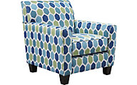Ashley Ayanna Turquoise Accent Chair