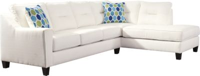 Ashley Kirwin Nuvella 2-Piece Right-Side Chaise Sectional